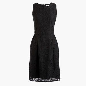 [NWT] Brand New Fitted Black Lace Dress - J Crew